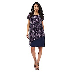 RJR.John Rocha - Purple ikat print dress