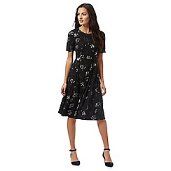 RJR.John Rocha - Black dandelion print dress