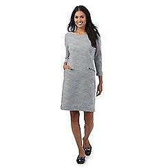 RJR.John Rocha - Grey textured jersey dress