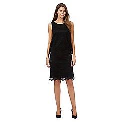 RJR.John Rocha - Black sleeveless lace dress