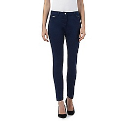 RJR.John Rocha - Dark blue slim fit 'Alice' jeans