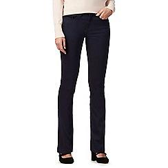 RJR.John Rocha - Rocha Elsa navy mid rise straight jeans
