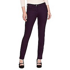 RJR.John Rocha - Rocha Elsa dark purple mid rise straight jeans