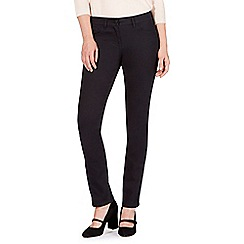 RJR.John Rocha - Rocha Elsa black mid rise straight jeans