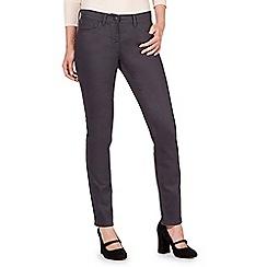 RJR.John Rocha - Rocha Elsa grey mid rise straight jeans