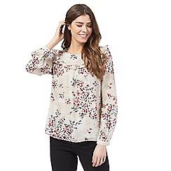 RJR.John Rocha - Red floral print blouse