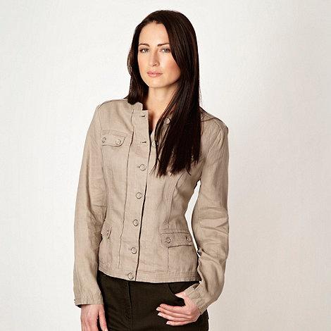 RJR.John Rocha - Fawn linen jacket