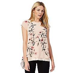 RJR.John Rocha - Pink floral print top