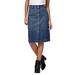 RJR.John Rocha - Blue denim skirt