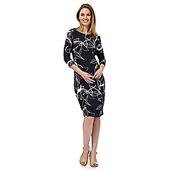 RJR.John Rocha - Navy floral print dress