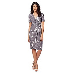 RJR.John Rocha - Grey floral print dress