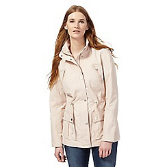 RJR.John Rocha - Pale pink four pocket jacket