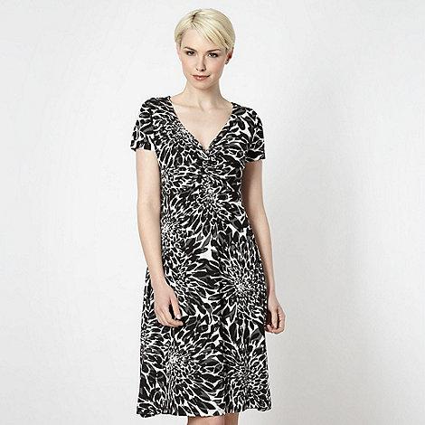 RJR.John Rocha - Designer black scatter petal dress