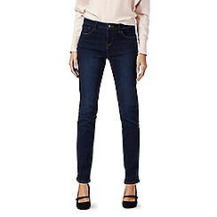 RJR.John Rocha - Dark blue mid rise straight fit jeans