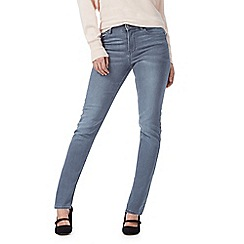 RJR.John Rocha - Grey 'Brooke' high waisted slim fit jeans