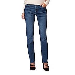 RJR.John Rocha - Blue mid wash 'Elsa' straight leg jeans
