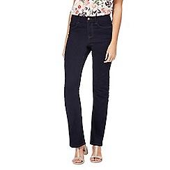 RJR.John Rocha - Dark blue 'Jenna' slim bootcut jeans