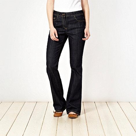 RJR.John Rocha Petite - Petite dark blue bootcut jeans