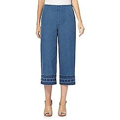 RJR.John Rocha - Blue wide leg jeans