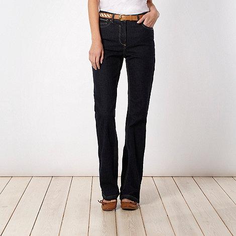 RJR.John Rocha - Shape enhancing dark blue flattening bootcut jeans