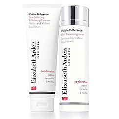 Elizabeth Arden - Visible Difference Skin Balancing Cleanser Toner Duo