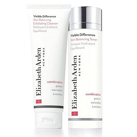 Elizabeth Arden - +Visible Difference+ skin balancing cleanser toner duo