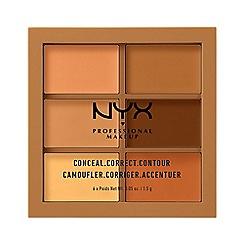 NYX Professional Makeup - Conceal, correct, contour palette - Deep