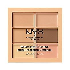 NYX Professional Makeup - Conceal, correct, contour palette - Light