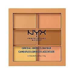 NYX Professional Makeup - Conceal, correct, contour palette - Medium
