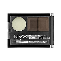 NYX Professional Makeup - Dark brown brow kit 2.65g