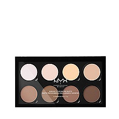 NYX Professional Makeup - Highlighter and contour palette