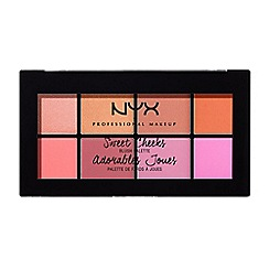NYX Professional Makeup - 'Sweet Cheeks' blusher palette 28g