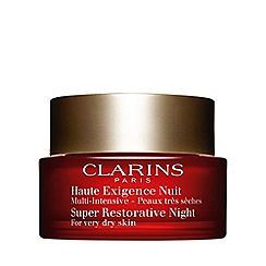 Clarins - 'Super Restorative' night cream for very dry skin 50ml