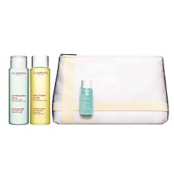 Clarins - Cleansing Collection for normal or dry skin Worth £43.50