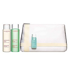 Clarins - Cleansing Collection for combination or oily skin Worth £43.50