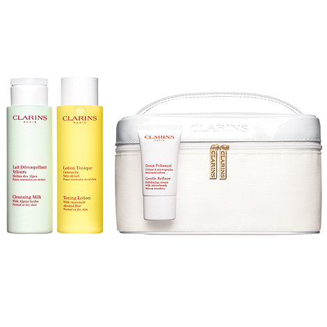 Clarins - Cleansing vanity set for normal to dry skin