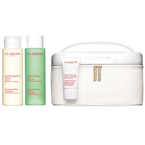 Clarins - Cleansing vanity set for combined to oily skin