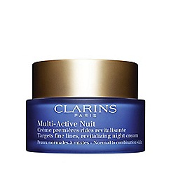 Clarins - 'Multi-Active' night cream for all skin types 50ml