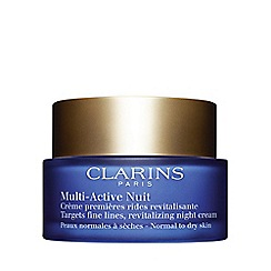 Clarins - 'Multi-Active' night cream dry skin 50ml