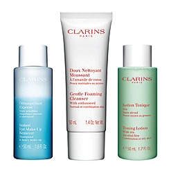 Clarins - 'Cleansing Collection' gift set for normal to combination Skin