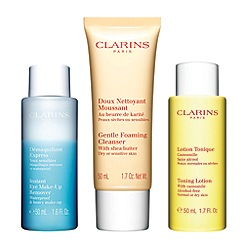 Clarins - 'Cleansing Collection' gift set for dry to sensitive skin