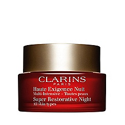 Clarins - 'Super Restorative' night cream all skin types 50ml