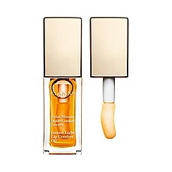 Clarins - Garden Escape - Instant Light Comfort Lip Oil 01 Honey