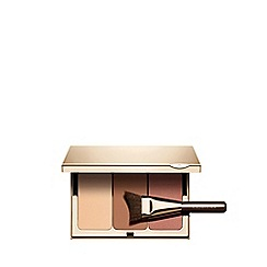 Clarins - Face contouring palette and brush