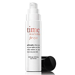 Philosophy - Time in a bottle eye age-defying serum for eyes