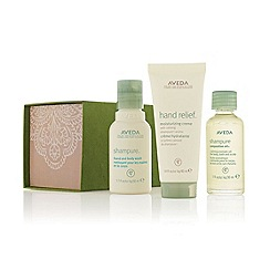 Aveda - A peaceful journey is a gift