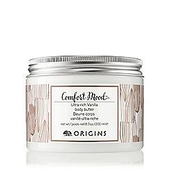 Origins - 'Comfort Mood' vanilla body butter 200ml