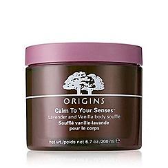 Origins - 'Calm To Your Senses' body souffle 200ml