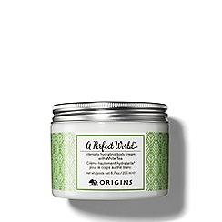 Origins - A Perfect World Intensely hydrating body cream with White Tea