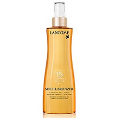 Lancôme - Soleil bronzer Smoothing Protective Oil SPF 15 200ml